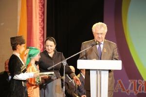 Награждение лауреатов Фонда Гаджи Махачева