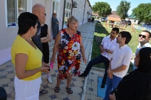 Оказание гуманитарной помощи беженцам из Украины