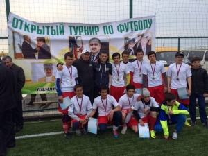 Турнир по футболу памяти Гаджи Махачева